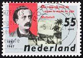 Postage stamp Netherlands 1987 Eduard Douwes Dekker