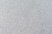 Silber Glitter Textur