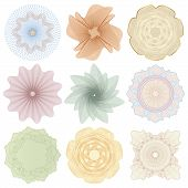 image of rosette  - Set  - JPG