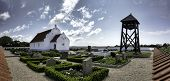 Church On Mando In The Wadden Sea, Denmark