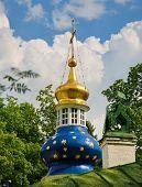 Het Klooster Heilige Dormition Pskov-grotten