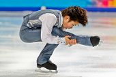INNSBRUCK, AUSTRIA - JANUARY 14 Shoma Uno (Japan) places second in the figure skating short program