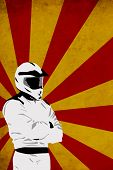 Motocross Or Quad Background