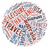 Travel info-text graphics