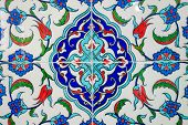 image of ottoman  - Ancient hand made Turkish  - JPG
