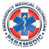 Emt Paramedic Medical Design Cross