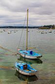 Sailing Boats Near St. Malo In Brittany, France
