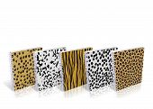 Notebook With Design Skin Of Wild Animals poster