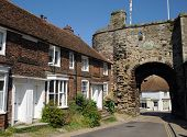 Landgate fortified gatehouse. Rye West Sussex.