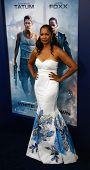 NEW YORK-JUNE 25: Actress Garcelle Beauvais attends the premiere of