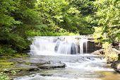 Waterfall At Robert H. Treman State Park
