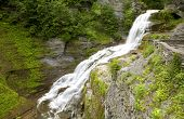 image of lucifer  - Lucifer Falls in summer time located at Robert H - JPG