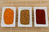 Antioxidant spices: turmeric, cumin, paprika