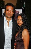 Mario Van Peebles and friend at the Los Angeles Premiere of