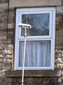 pic of cleaning house  - Window cleaning brush - JPG