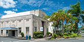 Pacific Tsunami Museum In Hilo Big Island Hawaii Panorama