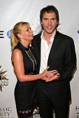 Jaime Pressly and Michael Medico at the 2007 Hot In Hollywood to benefit the AIDS Healthcare Foundat