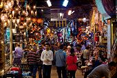 Grand Bazaar In Istanbiul, Turkey