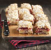 Cranberry Cream Cheese Coffee Cake
