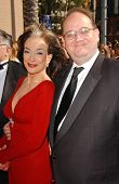 Dixie Carter and Marc Cherry  at the 2007 Primetime Creative Arts Emmy Awards. Shrine Auditorium, Los Angles, CA. 09-08-07