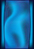 3d blue background