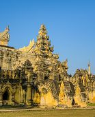 image of nu  - Maha Aungmye Bonzan Monastery In Inwa - JPG