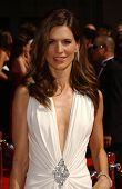 Perrey Reeves arriving at the 59th Annual Primetime Emmy Awards. The Shrine Auditorium, Los Angeles, CA. 09-16-07