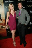 Amy Smart and Branden Williams at the World Premiere