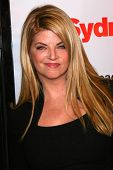 Kirstie Alley at the Los Angeles premiere of
