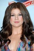 Kelly Clarkson at the American Idol:
