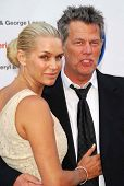 Yolanda Hadid and David Foster at The 28th Annual Gift Of Life Tribute Celebration by the National K
