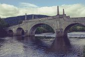 General Wade's Bridge In Aberfeldy, Scotland