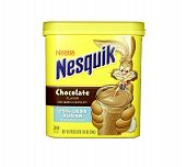 Box Of Nesquick Chocolate Drink Mix