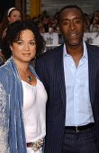 Bridgid Coulter and Don Cheadle at the North American Premiere of