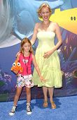 Penelope Ann Miller and daughter Eloisa at the Opening of Disneyland's