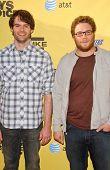 Bill Hader and Seth Rogan at Spike TV's