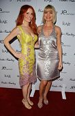 Phoebe Price and Rena Riffel at the launch of Phoebe's Phantasy by Lotion Glow. Kaje Boutique, Beverly Hills, CA. 06-16-07