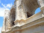 View on Arles