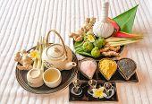 Thai Herbs for Luxury Spa
