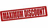Maximum Discount