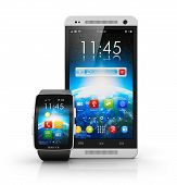 Smartphone and smart watch