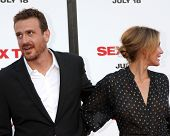 LOS ANGELES - JUL 10:  Jason Segel, Cameron Diaz at the