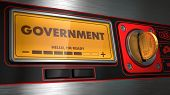 Government on Display of Vending Machine.