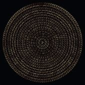 picture of sanskrit  - Mandala - JPG