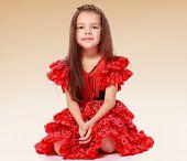 cheerful little girl