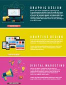 Icons For Web Design, Seo, Digital Marketing