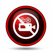 Forbidden Video Camera Icon