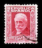 Pablo Iglesias stamp