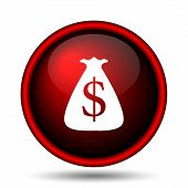 foto of million-dollar  - Dollar sack icon - JPG