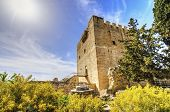 stock photo of crusader  - The medieval castle of Kolossi - JPG